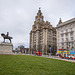 Royal Liver building, Liverpool waterfront