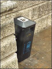 new-style OCC black litter bin