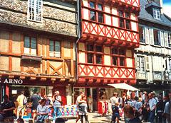 Josselin, Altstadt