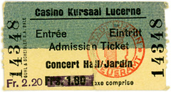 Casino Kursaal Lucerne Ticket, Lucerne, Switzerland