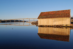 Boathouse on Hafrsfjord