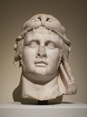 Marble Portrait Head of Mithridates VI Eupator in the Metropolitan Museum of Art, July 2016
