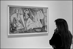 """""""Les femmes d'Alger"""" (Pablo Picasso - 1955)"""