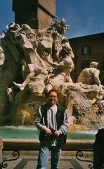 IT - Rom - ich auf der Piazza Navona