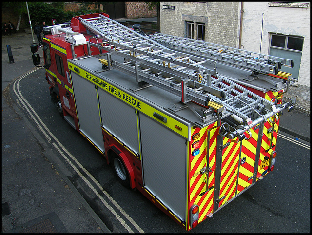 fire engine ladders