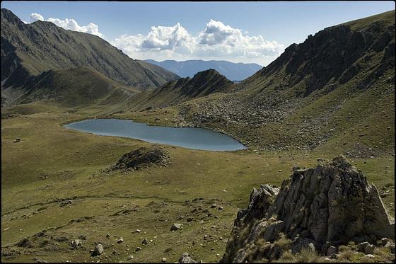Portella Blanca d'Andorra i Estany Negre de les Passaderes