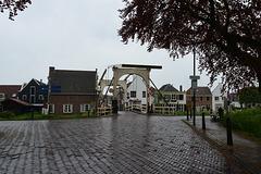 The bridge over the River Vecht at Breukelen