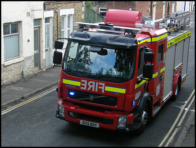 Oxfordshire fire engine