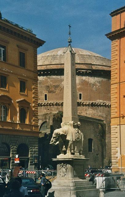 IT - Rom - Obelisco della Minerva