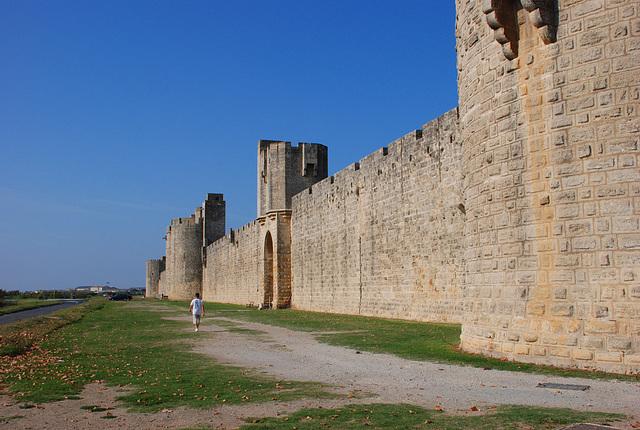 Stadtmauer Aigues Mortes, Camargue