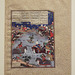 The Combat of Giv & Kamus from the Houghton Shahnama in the Virginia Museum of Fine Arts, June 2018