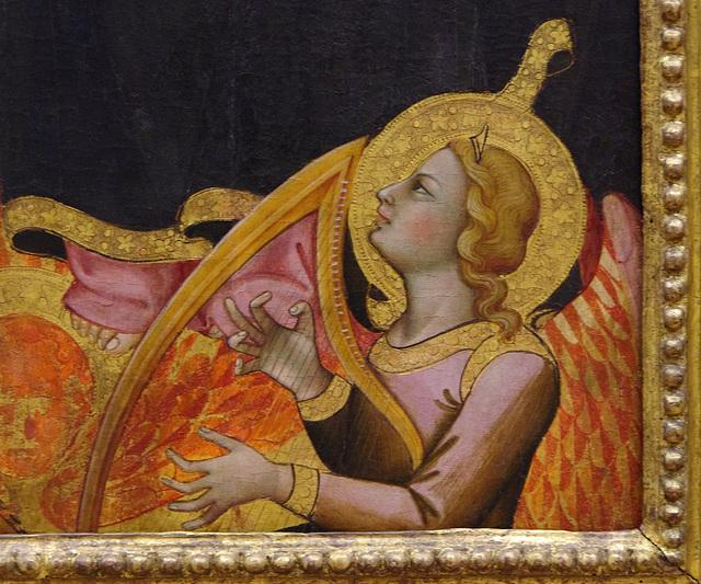 Harpist's fingers