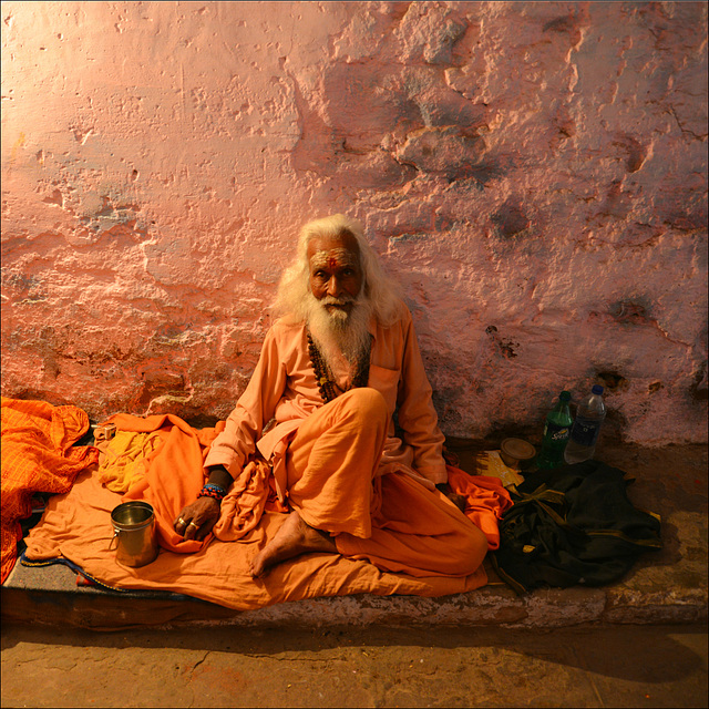The old sadhu.