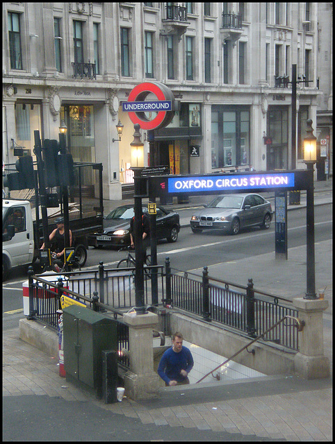 Oxford Circus Underground