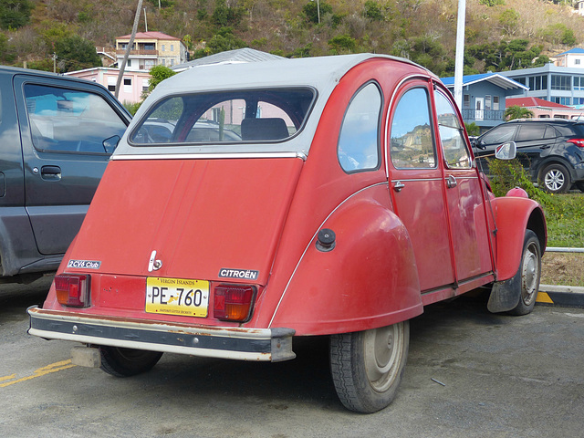 2CV in Road Town (2) - 11 March 2019