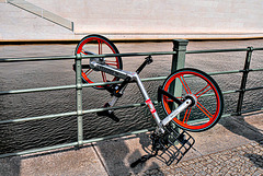 Anti Theft Bike Parking Puzzle - HFF (060°)