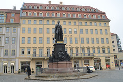 Dresden, Statue of King Frederick Augustus II