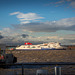 Stena ferry from the Liverpool waterfront.