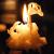 Chandelles et bougies