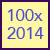 100x: 2014